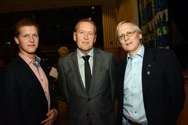 Samhällsbyggnadsnämnden<br />2:e vice ordförande Jakob Engelbrektsson (S)<br />Ordförande Lars-Erik Olsson (S)<br />1:e vice ordförande Bengt Classson (M)