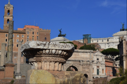 Forum Romana - antiken