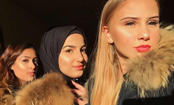 Fr v Vanessa Redzep, Kabas Al Shimmari och Elisabeth Ericsson får ett spännande 2018 när de nu tar plats i nya ungdomsfullmäktige.