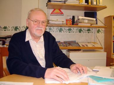 Bo Thiel, överförmyndare i Bollebygds kommun sedan 1995.