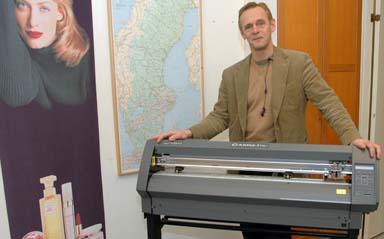 Jan Heintz, grundare och ägare av företaget Singcom i Bollebygd