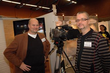 Peter Isaksson och Per Wallin Rönnecke producerar film i företaget Kvanrviken Filmproduktion