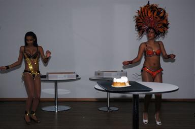 Semlor och samba spelade en viktig roll när Krafthuset invigdes.