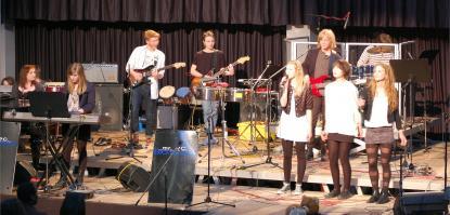 Vasaelever på scen i Tyskland