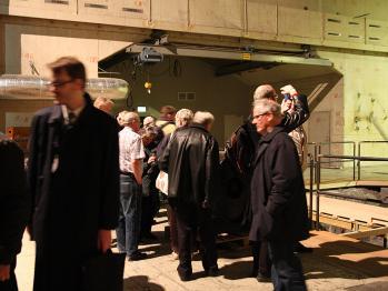 Spännande besök i reaktorhallen på KTH där Skandiaorgeln restaureras