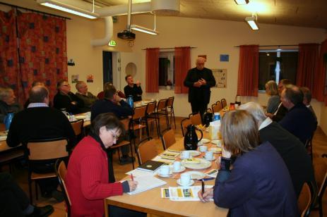 Bengt Grönblad, Länsbygderådet,informerade och svarade på frågor.