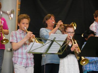 Duktiga trumpetare....