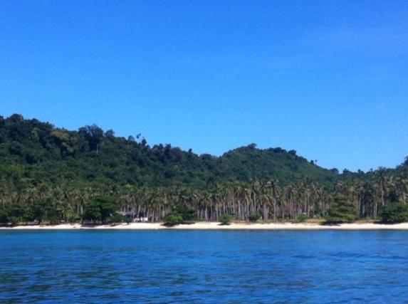 I Thailand i november är det ca 32 grader i vattnet.