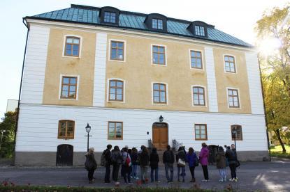 Under några timmar visade kultureleverna i HS3 några av Gävles sevärdheter