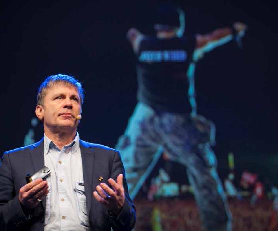 Bruce Dickinson/Iron Maiden talar på Marknadschefsdagen/Meg 2014