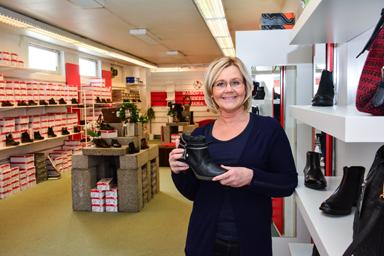 Juanita Larsson jobbar vidare med de varumärken som kunderna gillar.