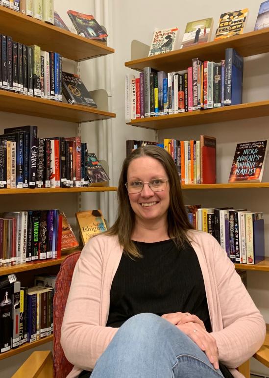 Gabriella Bild Jensen-Sondrup är skolbibliotekarie på staffangymnasiet.