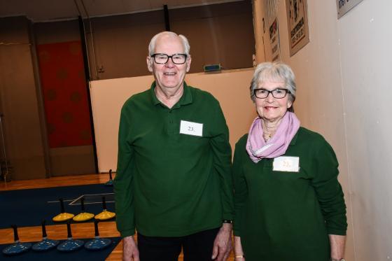 Sture och Ruth Johansson var favoriter hos arrangörerna. Men de båda fick se sig slagna av Stures bror Elving med fru Lilly. Alla fyra från Töllsjö.