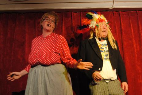 Ulla och Eilert, alias Ellinor och Tommy, hör till de klassiska figurerna.
