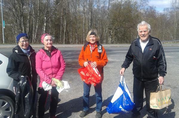 Anne-Marie, Ulla, Eileen och Anders