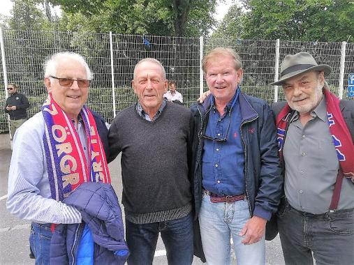 Bengt Bengtsson,  Örjan Persson, Per Hernström, Ulf Jansson