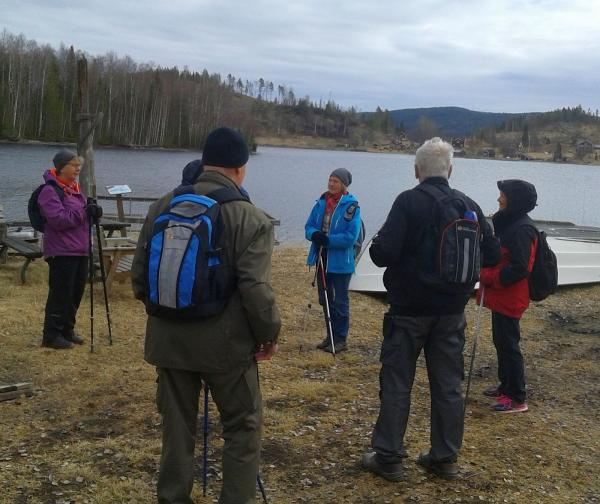 <span>Eileen var guide på dagens vandring</span>