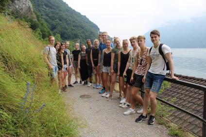 Elever i Lugano