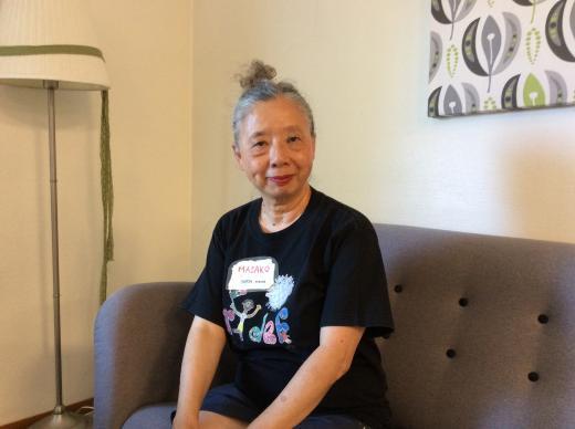 Masako vient depuis 1982 pour traduire et rendre la RIDEF accessible aux Japonais
