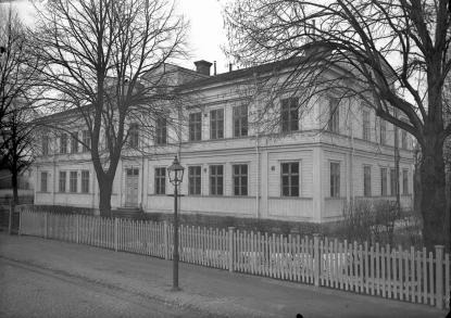 Många av spanska sjukans offer i Gävle slutade sina dagar på epidemisjukusen på Öster