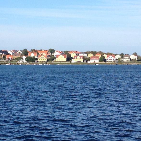 Deltar man i Skoljoggen i Karlskrona kan man njuta av utsikten samtidigt!