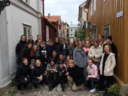 17 tyskar på besök hos 17 svenskar en vecka
