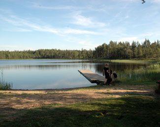 Enligt Bollebygds kommuns hemsida är badplatsen vid Vannasjön en \