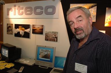 Bengt Kristensson driver mediaföretaget Riteco i Bollebygd