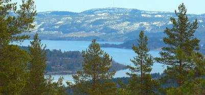 Med utsikt över Ullångersfjärden från Salumstugans bro