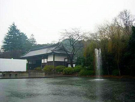 The second house in Edo, ancient Tokyo, which was inhabited by a major Daimyo, local leader at that time