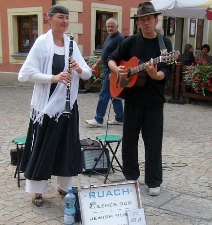 Street musicians in Wroclaw