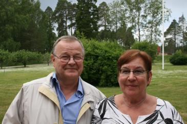 Benno Eriksson och Ulla Mildner