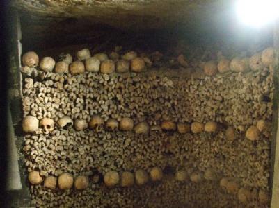En del av alla sex miljoner döda Parisare som finns \