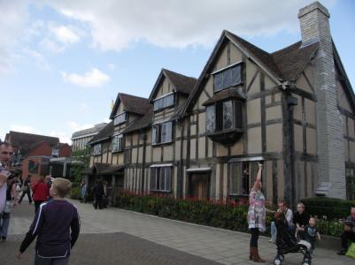 Huset på Henley Street, Stratford, där William Shakespeare föddes