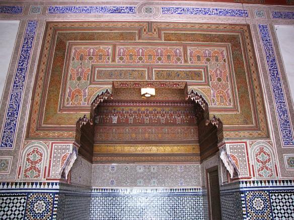 Bahia Palace - interior
