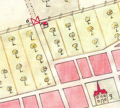 Nr 6 är Norrtull som låg vid staketet (Staketgatan) mellan Vasaskolan och teatern