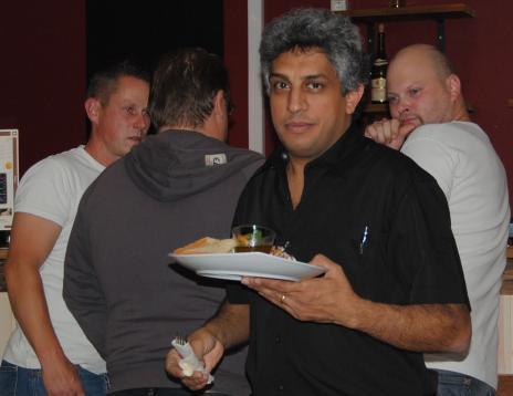 Ägaren till Fabronya, Josef Saleh,var nöjd med kvällen