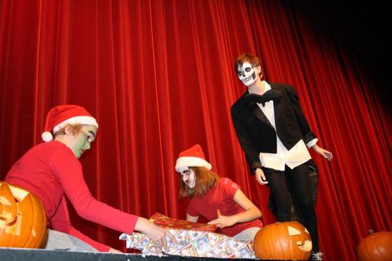 Halloween och jul är närmare varandra än man tror.