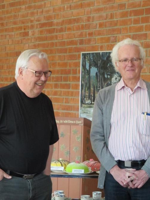 Jerry Erixon och Sven Lindblom berättar om dokumentationen.
