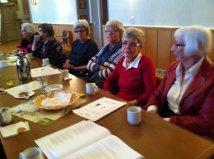 Laura Jonsson, Emmy Olsson, Elisabeth Backlund, Ulla-Britt Arnlund, Marianne Strömberg och Vivianne Wallin.
