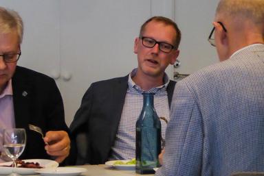 Lars Andersson, LRF:s kommunordförande i Bollebydgs kommun. Hör hemma i Töllsjö och var en av de inbjudna till mötet med ministern.