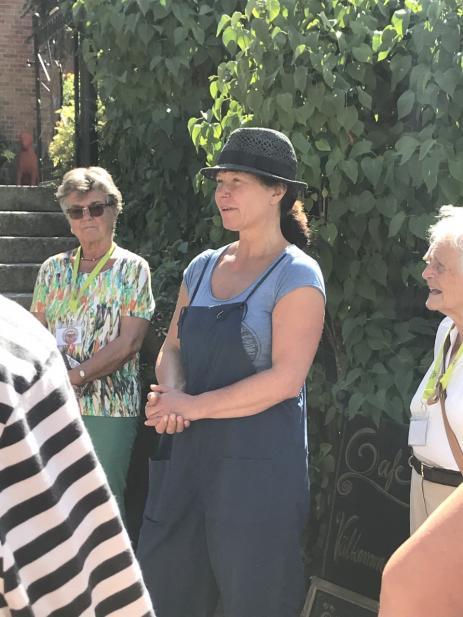 Även besöket hos Susanne Demåne i Gärestad gav mycket inspiration.