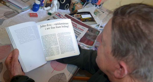 Etr nytt Folkets Husbyggdes för 40 miljoner de var också den jobbigaste perioden för John Eric, en annan Ångermanlänning, som satt på ekonomiposten i kommunen, hjälpte honom att flytta ett lån, så att John Eric slapp vara sömnlös, men det tog på hälsan...