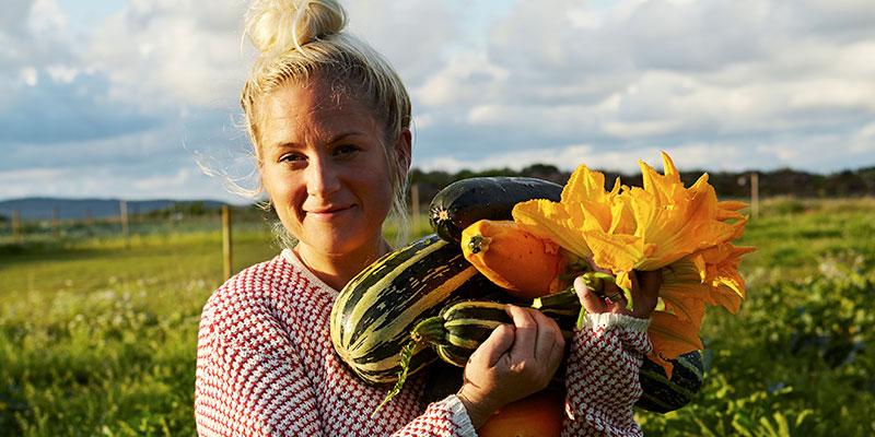 Matinspiratör. Besöker du Smaka på Åhaga i helgen har du goda chanser att stöta på matinspiratören Lisa Lemke.