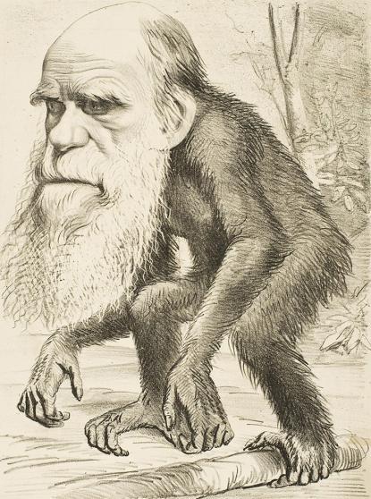Verdandister vid Vasaskolan som hävdade att Darwin hade rätt straffades av dåtidens skolinspektion.