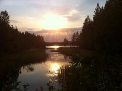 Ysjösundet vid Gårdsjön, Ullångersfjället.