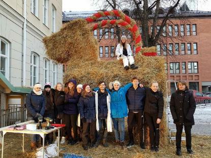 Årets bockbyggare vid Vasaskolan Naturvetenskapliga föreningen som håller en 45 årig tradition vid liv