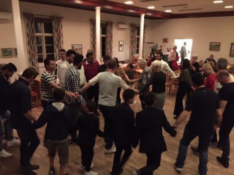 Den arabiska aftonen blev mycket uppskattad då många aldrig hade varit på någon så stor fest i Sverige förrut.