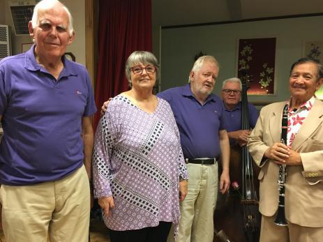 Sweet Jazz Quartet med Stina och Harold Jefta