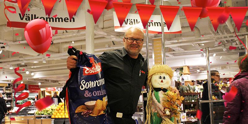 Vinn en lisebergsvinst! Chansen att vinna en jättestor chipspåse är bara en av de aktiviteter som anordnas i Citybutikerna den här veckan, hälsar Roland Gustavsson.